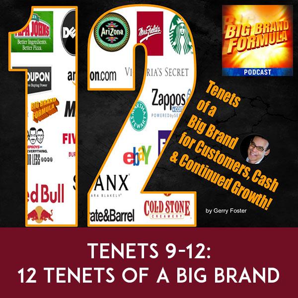 BBF 21   Big Brand Tenets